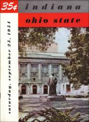 Thumbnail of OSU Football Program: September 25, 1954