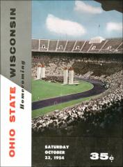 Thumbnail of OSU Football Program: October 23, 1954