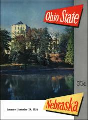 Thumbnail of OSU Football Program: September 29, 1956