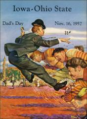 Thumbnail of OSU Football Program: November 16, 1957