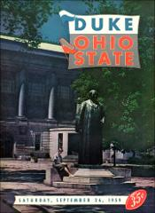 Thumbnail of OSU Football Program: September 26, 1959