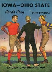 Thumbnail of OSU Football Program: November 14, 1959