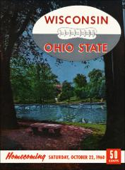 Thumbnail of OSU Football Program: October 22, 1960