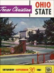 Thumbnail of OSU Football Program: September 30, 1961