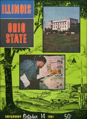 Thumbnail of OSU Football Program: October 14, 1961