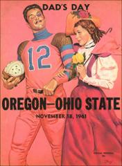 Thumbnail of OSU Football Program: November 18, 1961