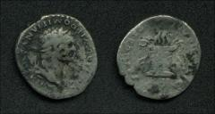 Thumbnail of DOMITIAN (struck under Titus) – RIC II, p. 122, no. 50