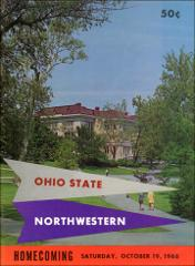 Thumbnail of OSU Football Program: October 19, 1968