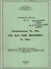 Contributions to the oil and gas industry in Ohio: a collection of