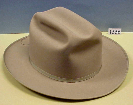 Stetson hat presented to John Glenn by the vice president after ... 5cd32cc384b4