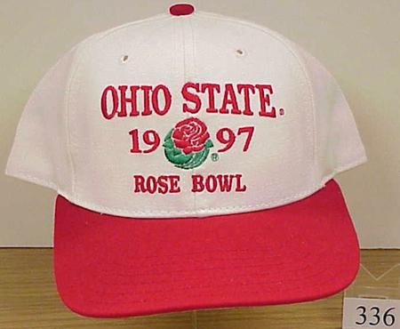 Baseball Cap With The Ohio State 1997 Rose Bowl Logo