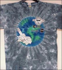 "Thumbnail of ""15th Anniversary of the International Ultraviolet Explorer Space Craft"" t-shirt"