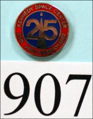 Thumbnail of 25th Anniversary Kennedy Space Center pin
