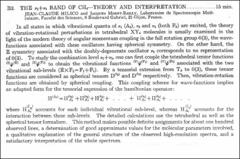 Thumbnail of THE $\nu_{2}+\nu_{3}$ BAND OF $CH_{4}$---THEORY AND INTERPRETATION