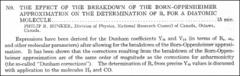 Thumbnail of THE EFFECT OF THE BREAKDOWN OF THE BORN--OPPENHEIMER APPROXIMATION ON THE DETERMINATION OF $B_{e}$ FOR A DIATOMIC MOLECULE