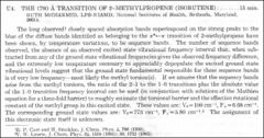 Thumbnail of THE 1790 ${\AA}$ TRANSITION OF 2-METHYLPROPENE (ISOBUTENE)