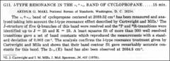 Thumbnail of l-TYPE RESONANCE IN THE $v_{5}+v_{10}$ BAND OF CYCLOPROPANE