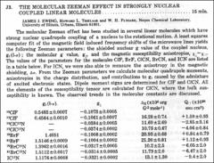 Thumbnail of THE MOLECULAR ZEEMAN EFFECT IN STRONGLY NUCLEAR COUPLED LINEAR MOLECULES