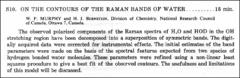 Thumbnail of ON THE CONTOURS OF THE RAMAN BANDS OF WATER