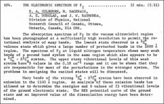 Thumbnail of THE ELECTRONIC SPECTRUM OF $F_{2}$