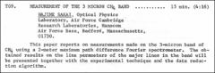 Thumbnail of MEASUREMENT OF THE 3 MICRON $CH_{4}$ BAND