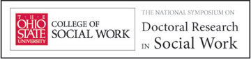 National Symposium on Doctoral Research in Social Work logo