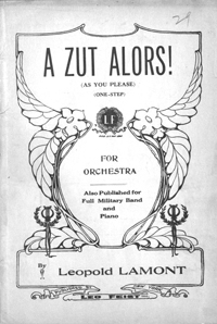 Silent Film Sheet Music Collection (TRI) logo